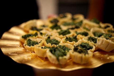 spinach tortes